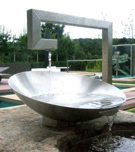 Fontaine extérieur en inox