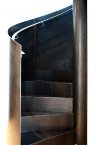 Rampe et escalier helicoidal