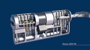 Cylindre de la marque ABUS