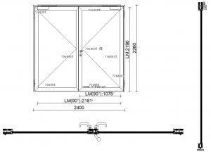 Détails de portes métalliques