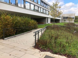 Lycée Edward Steichen - Mains-courantes en acier