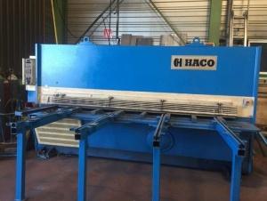 Cisaille guillotine hydraulique HACO TS 3012